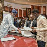 Joel Ogunsola and Aboluwarin Kitan-David