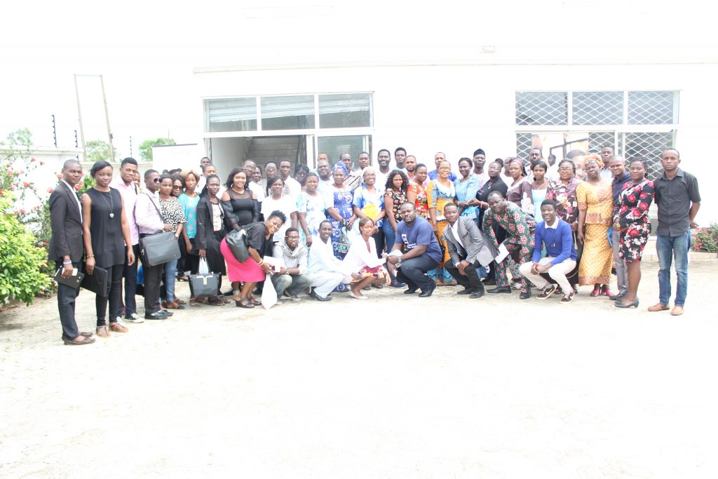 Cross section of participants @ Microsoft SouthWest Digital Entrepreneurship Fair,Akure