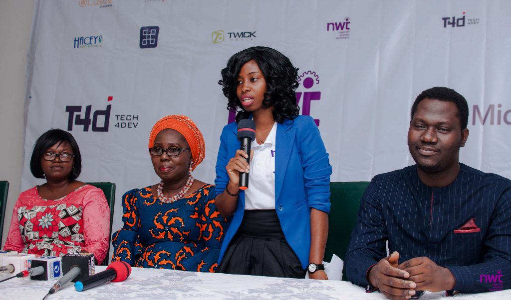Peace Odili - Programme Director, Nigerian women techsters