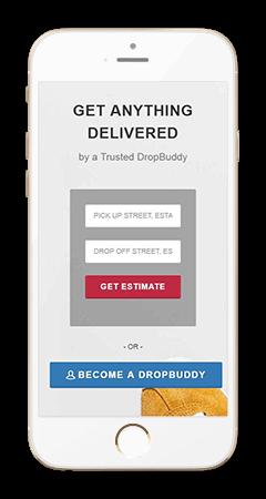 Dropbuddies- Online delivery.