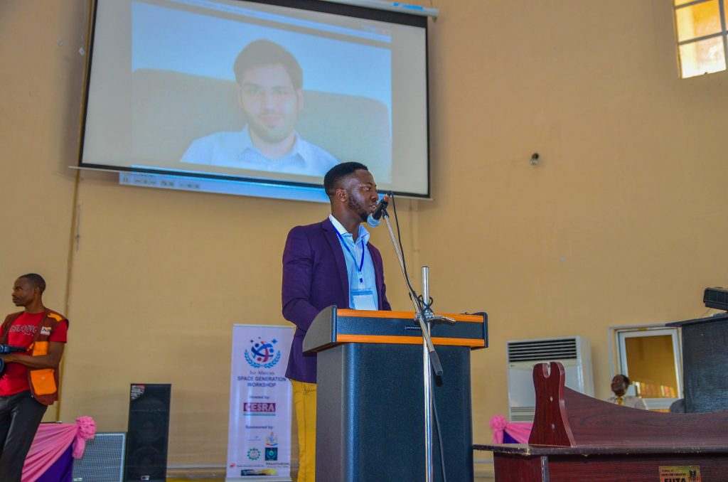 Temidayo Oniosun, Regional Coordinator (Africa) SPACE GENERATION ADVISORY COUNCIL (SGAC)