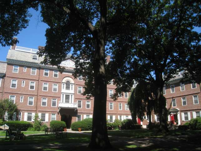 Facebook got its start at Harvard's Kirkland House dormitory. (Wikimedia Commons)