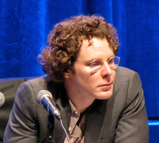 In mid-2004, Zuckerberg hired Napster cofounder Sean Parker to be Facebook's first president. (Andrew Mager / Wikimedia Commons)
