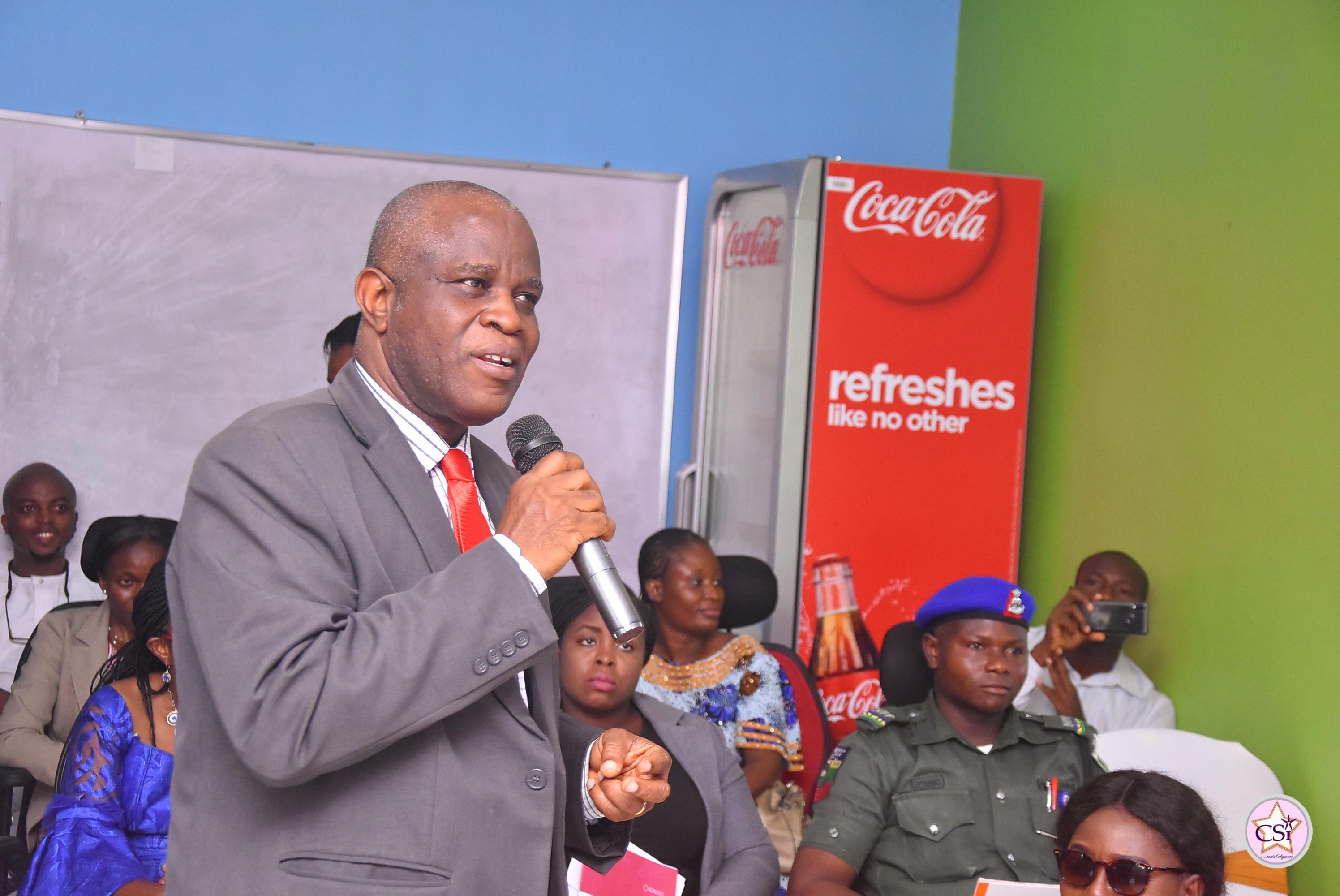 Vice Chancellor of the Federal University of Technology, Akure (FUTA) Professor J.A Fuwape